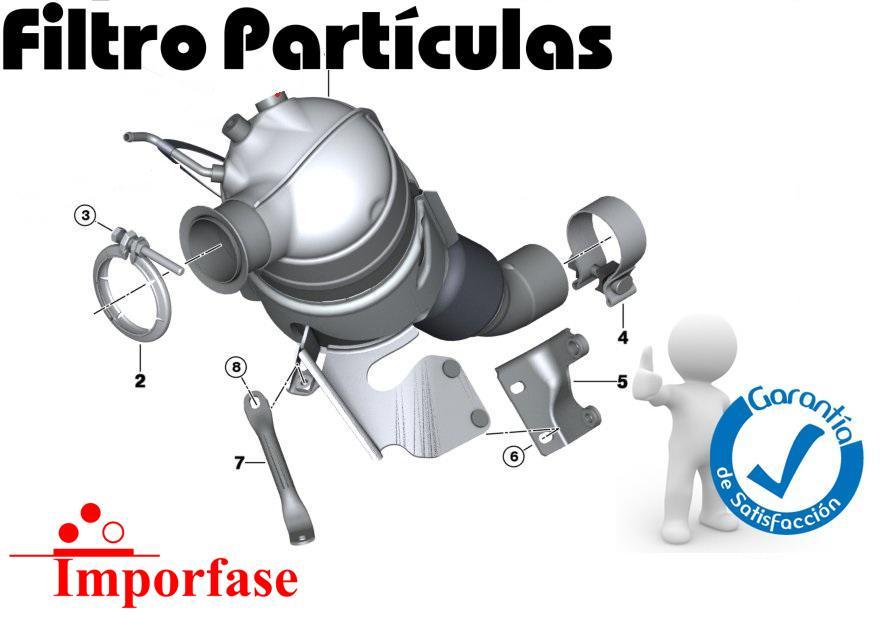 filtros dee partículas - Especificos e universais